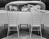 An Artsy Table Setting (CVerwaal) Tags: blackandwhite metropolitanmuseum sculpture newyork ny usa sonyrx100iii adrianvillarrojas theaterofdisappearance