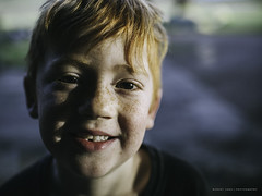 A young boy loses his first tooth (Robert Lang Photography) Tags: ayoungboyloseshisfirsttooth boy child colour copyspace dental early face ginger happy loss lost morning mouth oral redhair removed smile teeth tooth robertlangphotography robertlang robertlangportlincoln robertlangaustralia wwwrobertlangcomau