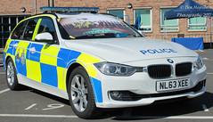 NL63 XEE (Ben - NorthEast Photographer) Tags: durham constabulary rpu bmw 330d estate traffic car anpr roads policing unit sport motor patrols nl63 xee nl63xee