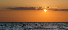 Orange & blue (GC - Photography) Tags: landscape seascape ocean sea water atardecer sunset sky sol sun nubes clouds naranja orange huelva andalucía españa spain nikon d5100 gcphotography puestadesol mar cielo océano agua paisaje