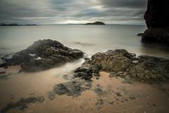 Rocks at North Berwick (ola_er) Tags: scotland north berwick rocks sea sky landscape nikon sigma long exposure september