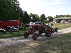 1952 Allis Chalmers type WD tractor (cjp02) Tags: old fashion days festival north salem hendricks county indiana labor day weekend annual