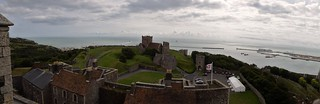 Panorama fromDover Castle
