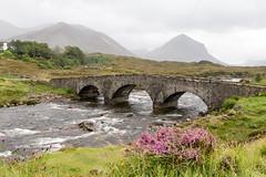 Sligachan Bridge (Xtian du Gard) Tags: xtiandugard scotland river sligachan bridge pont landscape waterscape isleofskye hébrides bestof2017