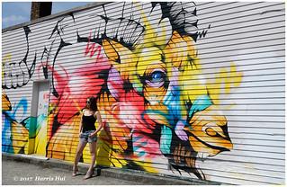 Bull's Eye - Vancouver Mural Festival XP6861e