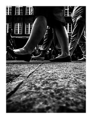 theparade (seba0815) Tags: ricohgrdiv ricohgriv ricoh grdiv grd monochrome streetphotography walk walking theparade parade poland polska gdansk people pov city preset inspiredeye black white bianco nero blanc noir schwarzweis czarnobiale blackandwhite blackwhite seba0815