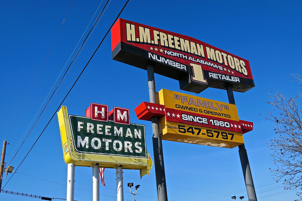The world 39 s best photos of alabama and neon flickr hive mind for H and r auto motors