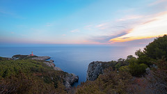 Capri Lighthouse (Giovanni Cordiale) Tags: nikon d750 sky sea capri capture foto lighthouse faro tramonto seascape landscape green red cloud eyeofthephotographer 14mm samyang summer colors beauty follow like segui mipiace flickr nikonitalia