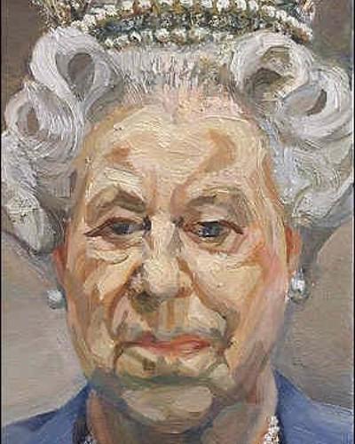 Queen Elizabeth II (2001) Lucian Freud, 1922-2011 bit.ly/2vYHpde #lucianfreud