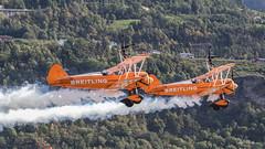 Breitling Wingwalkers (patrick.honegger) Tags: wingwalker wingwalking aerobatics airshow planespotting aircraft airplane stunt