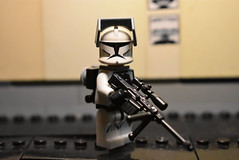 Clone Specialist (Cpt-Twig) Tags: lego star wars minifig ea battlefront 2 clone sniper assassion backpack