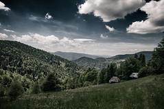 Beskid Sądecki (Prebirth) Tags: beskidy mountains forest wood meadow sky clouds landscape view nature free carpathians poland polish beskid sądecki nikon trip summer