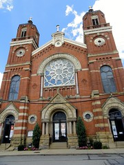 St Stanislaus Church (angelinas) Tags: pittsburgh cities architecture buildings villes usa pennsylvania downtown travel outdoor clouds urban church eglises ststanislaus