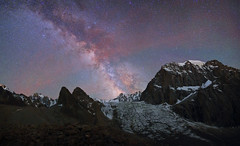 Ak-Say glacier, Kyrgyzstan (Mike Reva) Tags: astronomy astrophoto astrophotography astro stars sky stargazing stillness samyang24 starrynight milkyway milky mountains night nightsky nature nghtsky nightscape nights camping canon6d kyrgyzstan