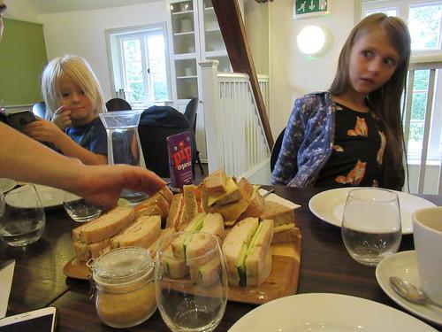 Sunday, 10th, Choosing a sandwich IMG_6565