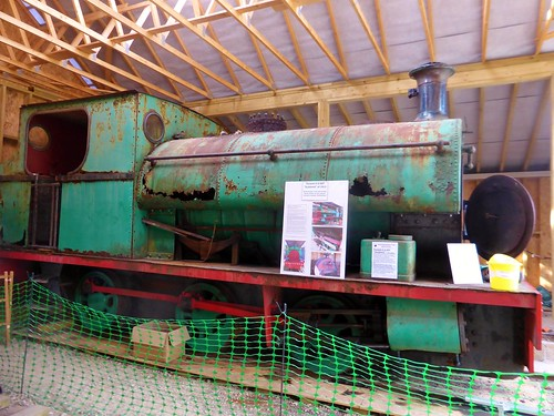 "Peckett 0-6-0ST ""Scadwell"" at Southwold"