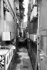 Backstreet (superzookeeper) Tags: 5dmk4 5dmkiv hk hongkong canoneos5dmarkiv ef2470mmf28liiusm mongkok mk backstreet taikoktsui monochrome blackandwhite bnw aircon eos digital alley favorites street