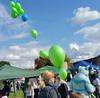I've had soooo many baloons on my tail, I was almost flying! :3 (Keenora Fluffball) Tags: keenora fursuit furry kee