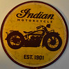 Indian Motorcycles Sign (ndrisdell) Tags: square squared circle motorcycle indian retro sign round history wheels rust nikon d3400