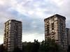 Residential apartment buildings in Novi Sad