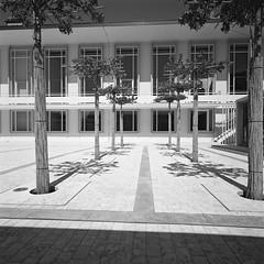 Shadows by JK-SW - Hasselblad SWC Ilford FP4 Kodak HC110