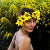 6/365. freedom of being own Self (Solar Phoenix) Tags: 365 days 365days 365daysofbliss 6x6 woman girl sunflower sunflowers flowers flowercrown yellow beautiful smile happy summer