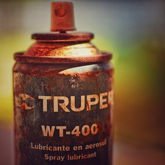 Rust (Mister Blur) Tags: macromondays rust kingdomofrust spray forgotten item bokeh macro depthoffield nikon d7100 f18 hmm