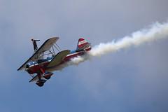 WingWalker (Ken S Three) Tags: thunderovermichigan airshow wingwalker wingwalking performer aircraft plane biplane airplane aerialacrobatics