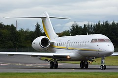 M-IUNI Bombardier Global 5000 (Gerry Hill) Tags: bd7001a11 bd 700 1a11 biz bizjet business jet corporate businessjet privatejet corporatejet executivejet jetset aerospace fly flying pilot aviation airplane plane aeroplane aircraft airport apron gerry hill photograph pic picture image stock aircraftstock airplanestock aviationstock businessjetstock bizjetstock privatejetstock jetstock air transport miuni bombardier global 5000 edinburgh scotland
