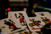 Donna, cavallo, re... (Gian Floridia) Tags: bokeh cartedagioco carteintavola cavallo donna modididire napoletane playingcards re trioplan105mmf28