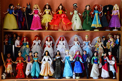 Disney store dolls collection (Lindi Dragon) Tags: doll disney disneyprincess disneystore dolls collection ariel mulan 2017 snow white cinderella aurora anna elza moana pocahontas beauty belle brave tiana merida mermaid rapunzel jasmine aladdin