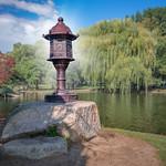 Japanese Lantern Sculpture in Boston Public Garden thumbnail