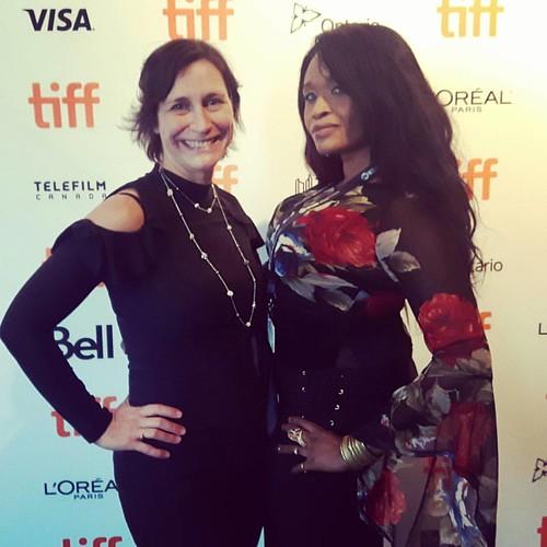 #tiff17 #redcarpet  will the fabulous Valerie  😀❤💋💙