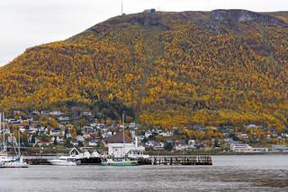 Autumn in Tromsø, Norway