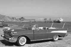 1957 Chevrolet Bel Air diecast 1:24 made by Danbury Mint (rigavimon) Tags: diecast miniaturas 124 1957 chevrolet belair blackwhite blancoynegro