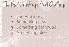 4 somethings :D (Raíssa S. (:) Tags: foursomethingsnailchallenge esmalte unhas nails wedding nailpolish naillacquer