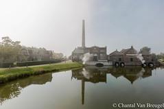 Stoommachine museum (Chantal van Breugel) Tags: herfst landschap stoommachine museum medemblik reflecties mist noordholland canon5dmark111 canon1635
