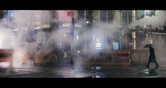 A Cab Waiting (Nico Geerlings) Tags: ngimages nicogeerlings nicogeerlingsphotography nightphotography streetphotography manhattan 42ndstreet madison steam atmosphere mood cinematic cinematography newyorkcity nyc ny usa cab yellowcab rain raining rainy