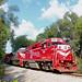 Indiana Rail Road GP38-2AC Leading the SAHW