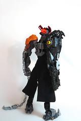 Murae, the Wanderer (Johann Dakitsch) Tags: bionicle lego moc creation custom figure toy postapoc cursed wasteland warrior toa glatorian