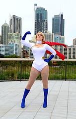PowerGirl1 (Tranquil Night) Tags: sydneycomiccon comiccon ozcomiccon ozcomiccon2017 ozcon cosplay sydney powergirl dc