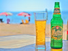 Enjoy summer (Karsten Gieselmann) Tags: 1240mmf28 bier blau chalkidiki em5markii europa gelb getränke gold greece griechenland grün jahreszeiten mzuiko microfourthirds nahrungsmittel olympus reise sommer sonne strand wetter beach beer blue food golden green kgiesel m43 mft seasons summer sun travel weather yellow νικήτη