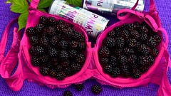 'Now take 2 generous cups of blackberries' HSoS! (violetchicken977) Tags: smileonsaturday freshandfruity blackberry cobbler measuringcups