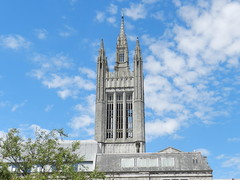 Mitchell Hall Spire, Marischal College, Aberdeen, July 2017 (allanmaciver) Tags: mitchell hall tower granite spire architect silver city council allanmaciver marischal college aberdeen university alexander marshall mackenzie