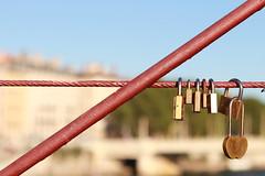 Passerelle Saint-Vincent - Lyon (Chapo78) Tags: cadenas pont lyon bridge lock love