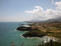 (abril muriel) Tags: cabo negro venezuela belleza paisaje turismo mar montañas sea nature naturaleza mariposa butterfly horizonte natural beautiful paraíso paradice lgspirit