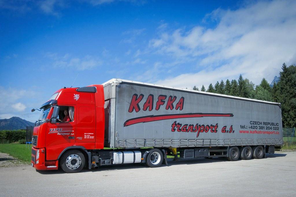 Resultat d'imatges de kafka transport a.s.