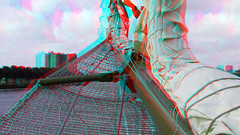 on BAP Unión sailing Vessel 3D in Rotterdam 3D (wim hoppenbrouwers) Tags: the bap union peru rotterdam 3d anaglyph stereo redcyan serie unión sailing vessel bapunión sailingvessel