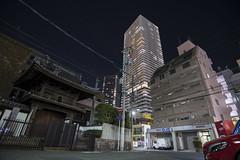 Desorden urbano y contrastes (- Cajón de sastre -) Tags: fotografíanocturna nocturnalphotography ciudad city skyline noche night nikond500 tokinaatx1120mmf28prodx hiroshima japan japón