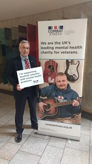 Suppporting the Combat Stress charity